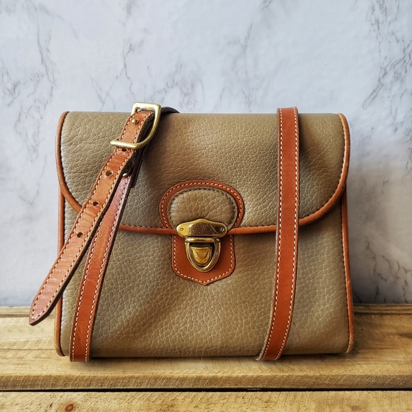 Dooney & Bourke Handbags - Dooney & Bourke Vintage Little Lock Crossbody Bag